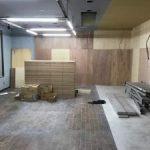 神奈川県横浜港北区のダンススタジオにて、遮音二重床(CPR工法)置床工事を致しました。