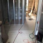 東京都世田谷区のビルにて、遮音二重床(MPR工法)置床工事を致しました。