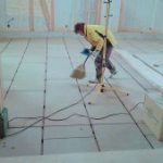 神奈川県横浜市中区の教会にて、遮音二重床(CP工法) 置床工事を行いました。