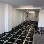 神奈川県横浜市中区にて、産業貿易センタービルのOAフロア、タイルカーペット工事を行いました。