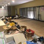 神奈川県小田原市にて、ビルの置床工事を行いました。