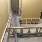 東京都世田谷区にて、新築工事に伴う置床工事を行いました。