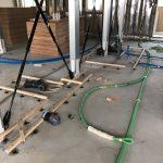 神奈川県横浜市青葉区にて、床リフォーム 置床工事を行いました!
