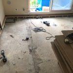 埼玉県所沢市のマンションにて、床のリフォーム、置床工事を行いました!