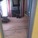 東京都江東区の保育園にて、CP工法(フクビ)床リフォーム、 置床工事を行いました。