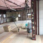 群馬県前橋市の飲食店にて、MP工法(フクビ)床リフォーム、 置床工事を行いました。