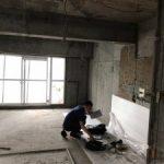東京都目黒区中目黒にて、軽天、石膏ボード、置床 一括請負工事を行いました。