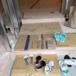 東京都豊島区のエステサロンにて、床リフォーム、置床工事(フリーフロアCP)を行いました!