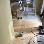 東京都世田谷区のマンションにて、置床工事を行いました!(フクビ化学工業「フリーフロアCP」)