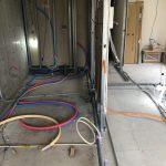 東京都世田谷区上北沢のマンションにて、置床工事(フクビ化学工業製「フリーフロアCP」)を行いました!