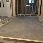 東京都府中市の新築作業所にて、置床工事を行いました!(フクビ化学工業フリーフロアCP、EP)