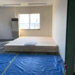 神奈川県横浜市鶴見区の保育施設にて、置床工事を行いました。(フリーフロアCPフクビ化学工業)