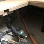 神奈川県横浜市中区の宿泊施設にて、置床工事を行いました。