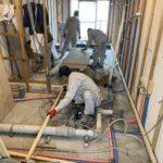 神奈川県横浜市金沢区のマンションにて、置床工事を行いました。(フクビ化学工業フリーフロアCP)