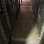 東京都品川区五反田のマンションにて、置床工事を行いました。(乾式二重床)