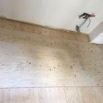神奈川県川崎市高津区のマンションにて、間切り変更工事に伴う置床工事を行いました。(乾式二重床)