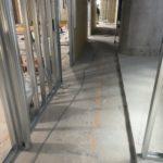 東京都渋谷区の事務所にて、置床工事、OAフロア工事を行いました(フクビ化学工業「フリーフロアCP」「TN-50」)