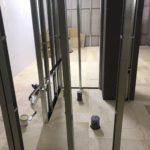 千葉県八千代市のスポーツジムにて、置床工事を行いました。(フクビ化学工業フリーフロアCP)