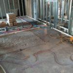 神奈川県横浜市旭区の寺院の改修工事に伴い、置床工事を行いました。(フクビ化学工業フリーフロアCP、フリーフロアEP)
