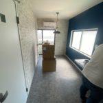 東京都江戸川区の社員寮にて、ワンルームからシャワールームへ改修工事を行いました。