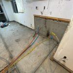 東京都大田区の集合住宅にて、床リフォーム、置床工事を行いました。(フクビ化学工業乾式二重床)