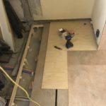 東京都大田区にマンションにて、内装リフォーム置床工事を行いました。(フクビ化学工業フリーフロアCP)