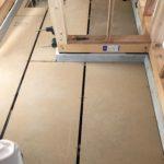 神奈川県相模原市にて、新築工事に伴う置床工事を行いました。(フクビ化学工業フリーフロアCP)