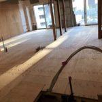 東京都品川区のマンションにて内装リフォーム置床工事を行いました。(フクビ化学工業フリーフロアCP)