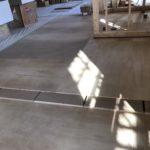 千葉県流山市の保育園にて、置床工事を行いました。(フクビ化学工業フリーフロアCP)