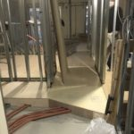 神奈川県川崎市宮前区のマンションにて、リノベーション工事として置床工事を行いました。(フクビ化学工業フリーフロアCP)