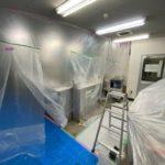 神奈川県厚木市の食品冷蔵物流倉庫内の事務所にて、結露対策工事を行いました。(ネオマフォーム)