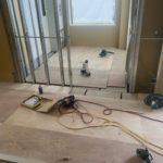 神奈川県横浜市港南区のホームケアクリニックにて、置床工事を行いました。(フクビ化学工業フリーフロアCPF)