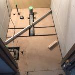 東京都中野区の新築戸建住宅にて、置床工事を行いました。(フクビ化学工業フリーフロアCPF)