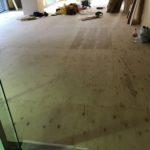 神奈川県横浜市都筑区のビルにて、置床工事を行いました。(フクビ化学工業)