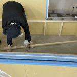 埼玉県上尾市のペットショップにて、置床工事を行いました。(フクビ化学工業フリーフロアCP)