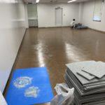 神奈川県藤沢市のビルにて、OAフロア工事を行いました。(フクビ化学工業TN50)