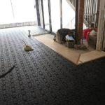 東京都世田谷区のビルにて、OAフロア工事を行いました。(フクビ化学工業TN50)