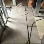 東京都文京区にて、新築の置床工事を行いました。(フクビ化学工業フリーフロアCP)【秀和建工】