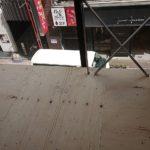 東京都中央区銀座のビルにて、置床工事を行いました。(フクビ化学工業乾式二重床)【秀和建工】