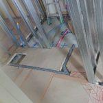 東京都品川区のマンションにて、置床工事を行いました。(フクビ化学工業フリーフロアCP)【秀和建工】