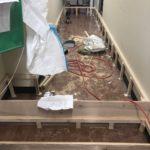神奈川県小田原市の工場にて、置床工事を行いました。(乾式二重床)【秀和建工】