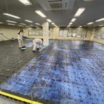埼玉県さいたま市のオフィス事務所にて、オフィス家具入れ替えに伴う床改修工事を行いました。(フクビ化学工業OAフロアT100R)【秀和建工】